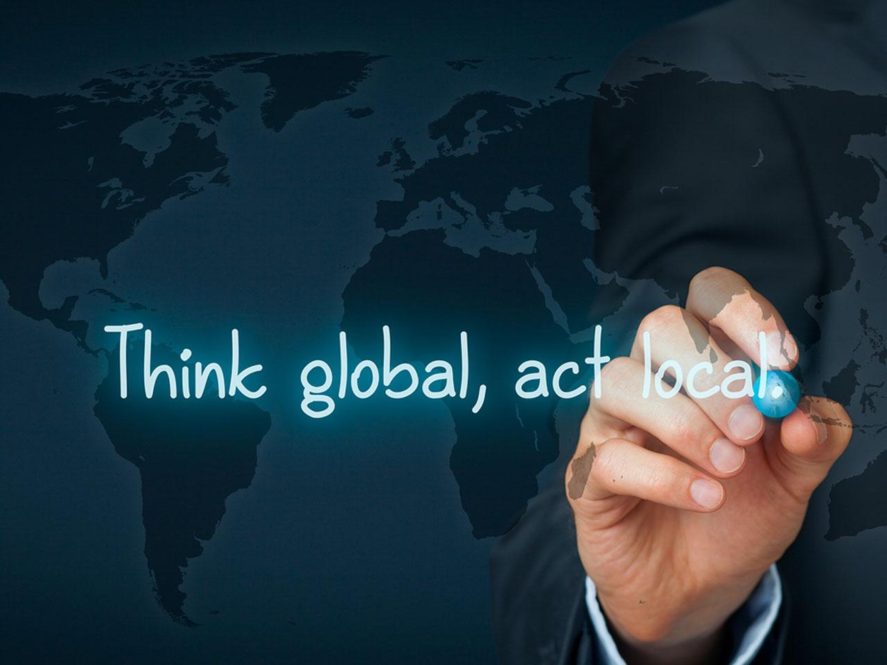 """Kentlerde """"Küresel Düşün, Yerel Hareket Et"""""""