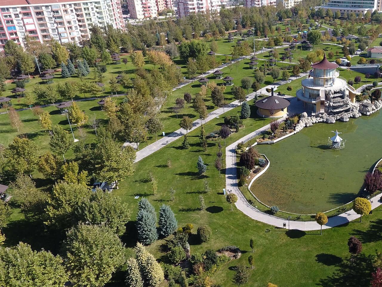 Konya'nın ilk millet bahçesi neresiydi ve ne oldu?